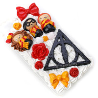 Harry Potter Trio Decoden iPhone Case