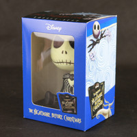 New Animation Tim Burton The Nightmare Before Christmas Jack Skellington Bobble Head Cute 11CM Action Figure Alternative Measures