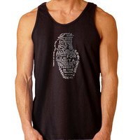 Grenade - Bruno Mars typo For Mens Tank Top Fast Shipping For USA special christmas ***