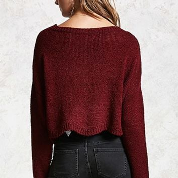 Contemporary Ribbed Sweater