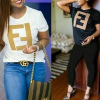 Fendi Women Short Sleeve Top