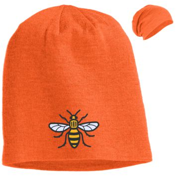 Manchester Bee Slouch Beanie