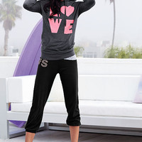 Fleece Crop Pant - Supermodel Essentials - Victoria's Secret
