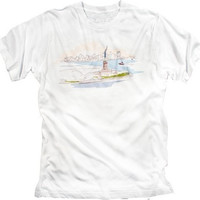 T-shirt New York City Harbor