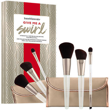 Buy bareMinerals Give Me A Swirl™ Brush Collection   John Lewis
