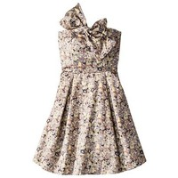 Kate Young For Target® Strapless Bow Dress -Floral Print