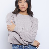 Cozy Girl Crewneck Top