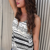 Skinnie Minnie Aztec Racerback | The Rage