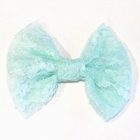 Teal Lace from OHMYBOWS