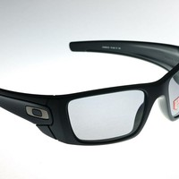 OAKLEY FUELL CELL Polished Matte Black/Grey Polarized OO 9096-05