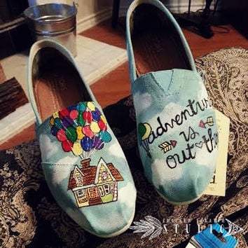 Disney Pixar UP Custom TOMS