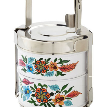 Boho Flair for Fare Tiffin Box by Karma Living from ModCloth
