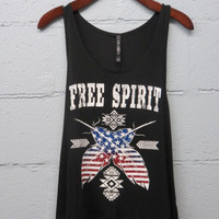 Free Spirit Graphic Tee