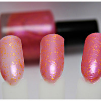 Pink Lemonade - Custom Glitter Nail Polish