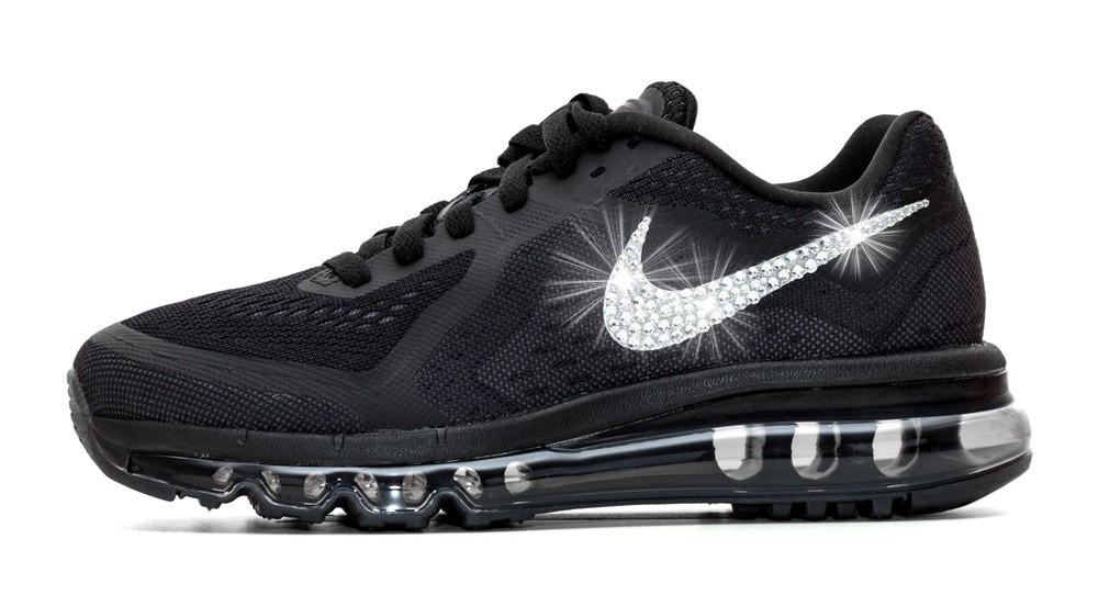 Nike Air Max 360 Running Shoes By Glitter Kicks - Customized With Swarovski  Crystal Rh 9ec25af522