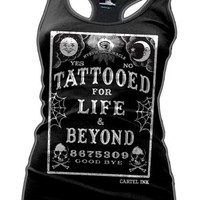 Tattooed For Life And Beyond Racerback Tank