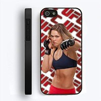 New Ronda Rousey White UFC Champion for Iphone 5 Case