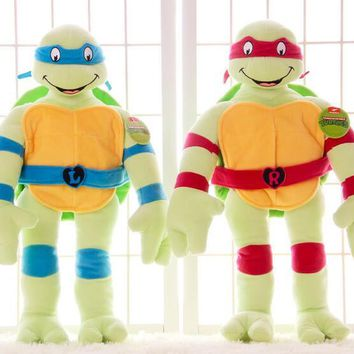 turtle stuffed toy doll for best gift for boy 55cm tortoise plush toy