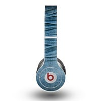 The Wrinkled Jean texture Skin for the Beats by Dre Original Solo-Solo HD Headphones