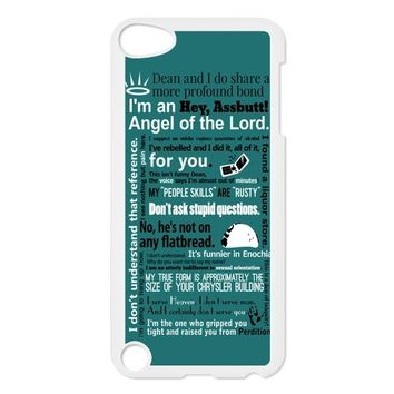 EVA Supernatural iPod Touch 5 Case,Snap-On Protector Hard Cover for iTouch 5th