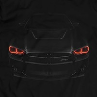 Dodge Challanger SRT Angel Eyes Demon HALOs Rings T-Shirt Unisex Headlights Glow Tuning Holiday Gift Birthday