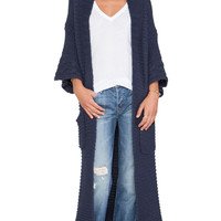 Wildfox Couture Cardigan in Navy