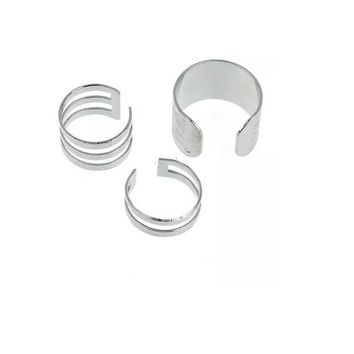 3Pcs 1Set Top Of Finger Over The Midi Tip Finger Ring