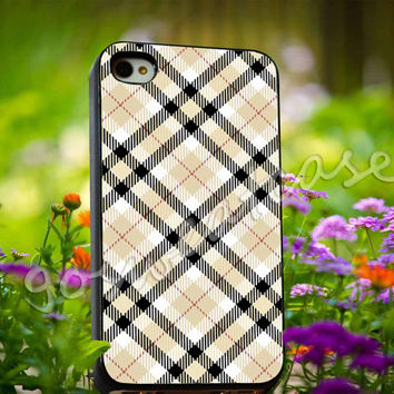 Burberry Inspired - for iPhone 4/4s, iPhone 5/5s/5C, Samsung S3 i9300, Samsung S4 i9500 Hard Plastic Case