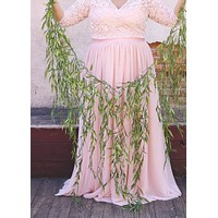 Artificial Weeping Willow Garland - 6' Long