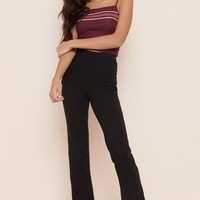 High Rise Flare Pant