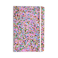 "Vasare Nar ""Candy Pink Confetti"" Pastel Abstract Everything Notebook"