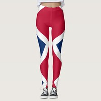 Leggings with flag of Denver, Colorado State, USA