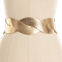 GOLD TWIST BELT