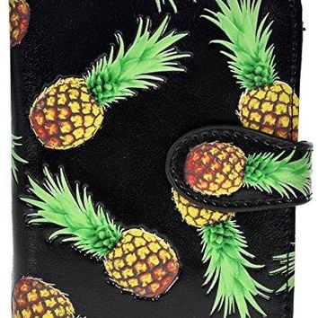 Shagwear Womens Small Wallets with Zipper Pocket Pop Art and Abstract Designs