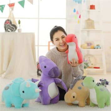 Dinosaur Pillow Cushion Stuffed Animals Dragon & Plush Toy Dinosaur Dolls For Children Gifts Birthday Christmas Gifts