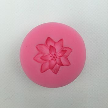 Flower silicone mold