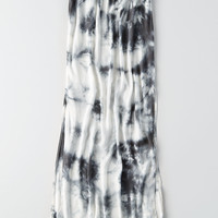 Don't Ask Why Side Slit Maxi Skirt, Gray