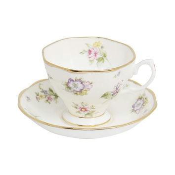 1920 Spring Meadow Three Piece Tea Set, Royal Albert