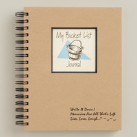 My Bucket List Journal - World Market