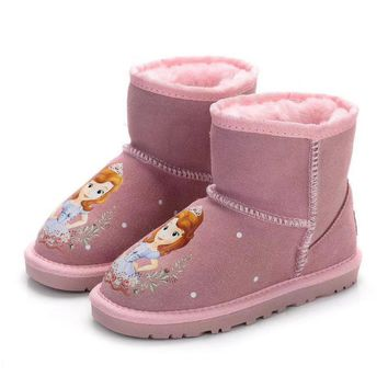 UGG Baby The small animals snow boots-1