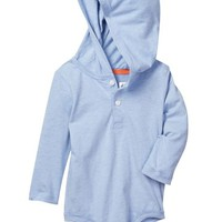 Joe Fresh | Hoodie Henley Bodysuit (Baby Boys) | Nordstrom Rack