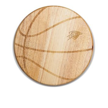 Oklahoma City Thunder - 'Free Throw' Basketball Cutting Board & Serving Tray by Picnic Time