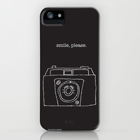 Vintage camera negative iPhone & iPod Case by the green gables