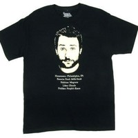 Charlie Dating Proflie - It's Always Sunny In Philadelphia T-shirt: Adult Large - Black