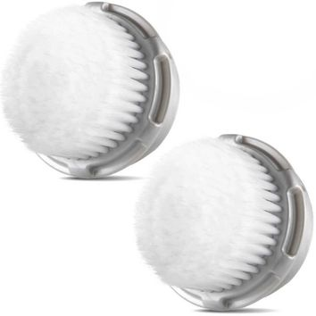 Compatible Clarisonic Replacement Cashmere Brush Heads (2 Pack)