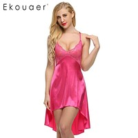 Sexy Satin Nightgown