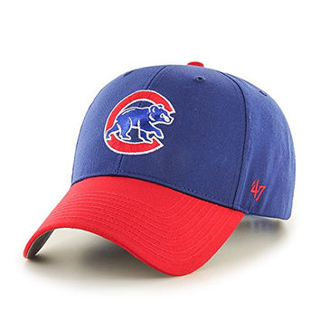 Chicago Cubs Basic 2-Tone Toddler Hat by '47 Brand