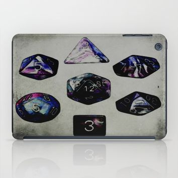 DUNGEON DICE iPad Case by Jessica Ivy