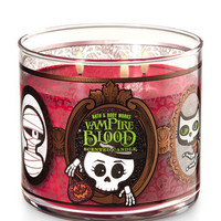 Vampire Blood With Textured Halloween Lid 3-Wick Candle | Bath And Body Works