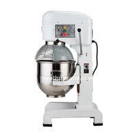 Pizza Dough Mixer - 30 Liters (Quart), With Guard, CE, Gear Transmission, B30F